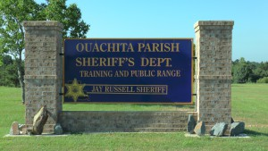 Rifle Range Sign