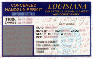 Louisiana CCW permit